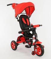 Трехколесный велосипед Красный (668)-(1)