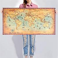 Политическая карта мира под старину! , фото 1