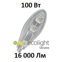 Уличный LED светильник EcoWay 100 16000Lm консольный светодиодный
