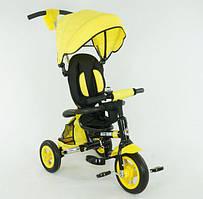 Трехколесный велосипед Желтый (668)-(1)