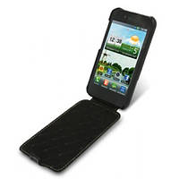 "Чехол-флип  LG E960/ Nexus4 ""Tetded"" черная кожа"
