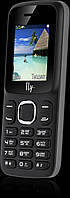 Кнопочный телефон FLY FF180 чёрный