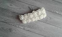 Роза з фоамірану - 2,2см білий