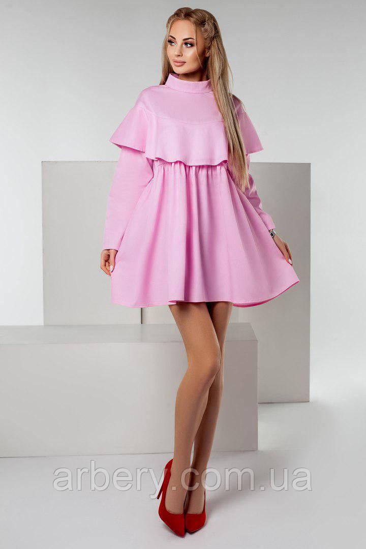 Женское нежное платье