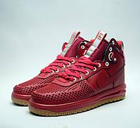 Мужские красные кроссовки Nike Air Lunar Force Duckboot   Люкс Реплика 13503671bca