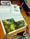 Алмазная вышивка зимний пейзаж 20х30 см, полная выкладка, квадратные стразы, фото 3