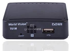 Цифровая приставка Тюнер DVB-T/T2 T61M World Vision