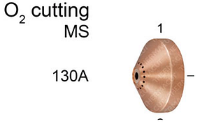 Экран 130А к плазменному резаку Hypertherm MAXPRO 200 (T-11284)