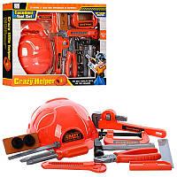 Детский набор инструментов с каской(3288)