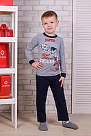 Детский комплект штаны+кофта для мальчика Турция. Kids Angel C-308. Размер 3-5 лет.