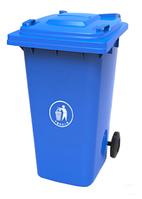 Контейнер для мусора 120 л ZTPE Синий