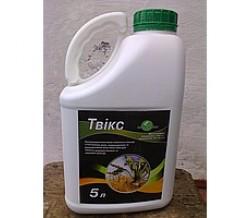 Инсектицид/інсектицид Твикс (Нурел Д) хлорпирифос 500 г/л + циперметрин 50 г/л, пшеница, свекла, рапс, горох