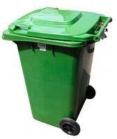 Контейнер для мусора 120 л ZTPE Зеленый