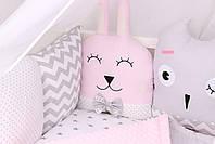 Комплект в кроватку с зверюшками, фото 2