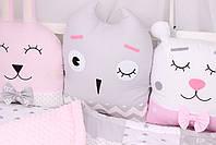 Комплект в кроватку с зверюшками, фото 3