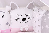 Комплект в кроватку с зверюшками, фото 5