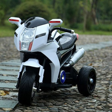 Детский мотоцикл-трицикл BMW Sport bike FT-6288 белый ***