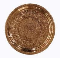 Поднос медный Урарту диаметр 26 см, фото 1