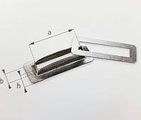 Кільце, Кольцо, Люверс 27х8 мм прямоугольное тентовая фурнитура для тентов, штор, палаток.