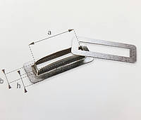 Кільце, Кольцо, Люверс 38х8 прямоугольное тентовая фурнитура для тентов, штор, палаток.