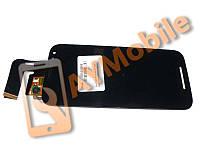 Дисплей Motorola Moto G (XT1550) с сенсорным стеклом черный
