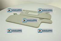 Козырек солнцезащитный 2108, 2109, 21099 к-т 2шт с зеркалом Сызрань ВАЗ-2108 (2108-8204010)