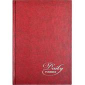 Щоденник недатований А5(138*197мм), 320стор, Аріан 27010, червоний