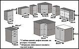 Кутова кухня 360 см Belini Infiniti LIDIA L PRO+ , фото 4
