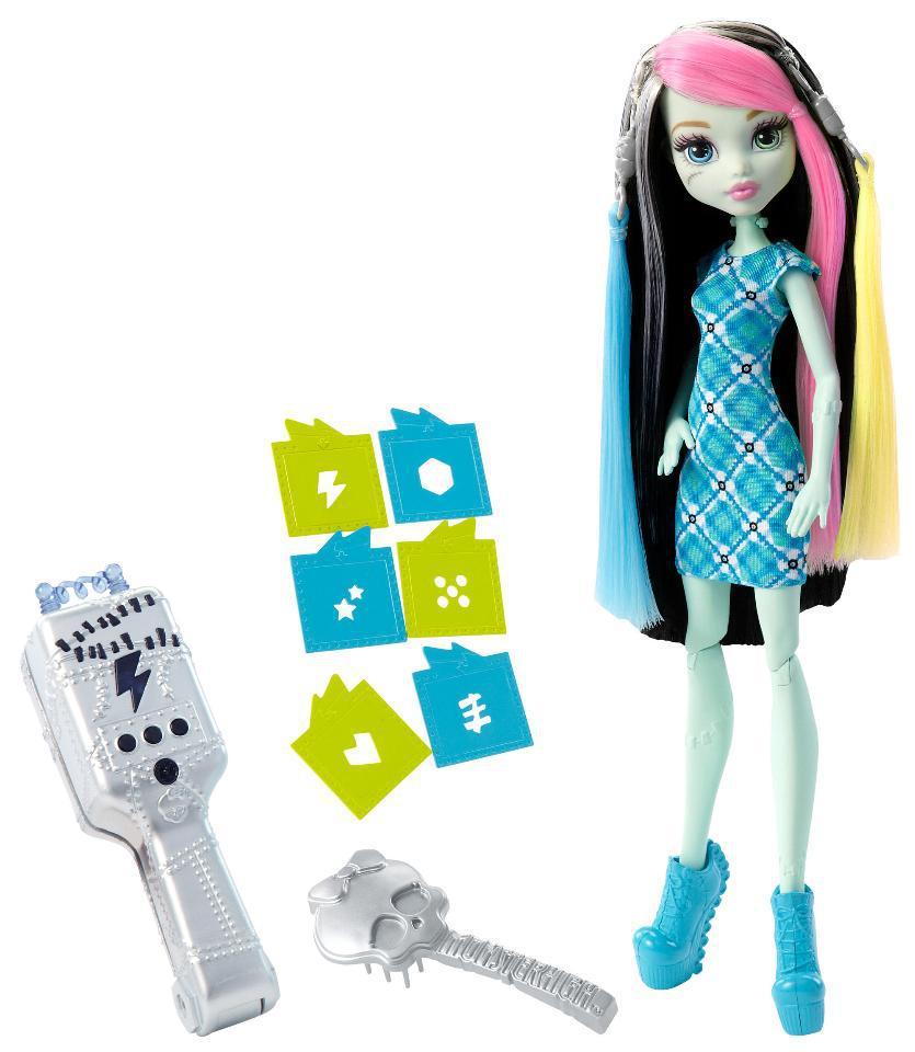 Набор с куклой Monster High. Frenkie Stein. Voltageous Hair.  (Монстер Хай. Френки Штейн)