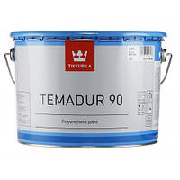Краска акрилоуретановая 2К Темадур 90 Tikkurila Temadur 90 прозрачная TCL