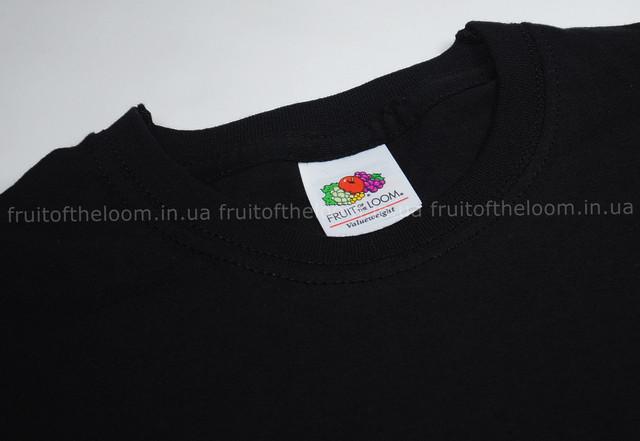 Чёрная детская футболка с длинным рукавом