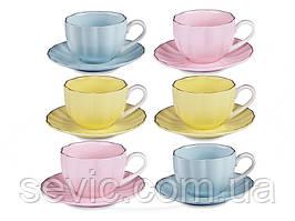 Кофейный набор Cup and Saucer на 12 предметов 359-358