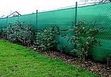 Захисна сітка PTS-120 4,0x50 ПЕНДЕ (HDPE) зелена, фото 3