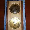 Термометр Гигрометр Барометр для сауны ТГС исп. 5, вертикальный для Бани для Сауны + ПОДАРОК, фото 2