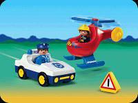 Игровой набор Playmobil 6623 Спасатели, от 1,5 лет!