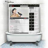 Шторка для Ванны YouTube