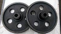 Шестерня (блок) Z-82+17 в редуктор хода ЗМ-60А (ОВС-25) ОВБ1067