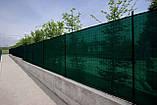 Защитная сетка PTS-160 3,0x50 ПЕНД (HDPE) черно-зеленая, фото 4
