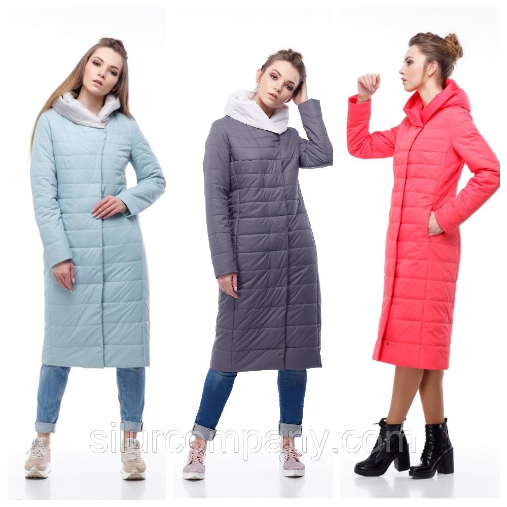 adf9ca84c5a Демисезонное женское пальто в пол - Интернет магазин