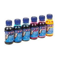 Комплект чернил WWM Epson Electra Black, Cyan, Magenta, Yellow, Light Cyan, Light Magenta, 100 мл (ELECTR.SET62)