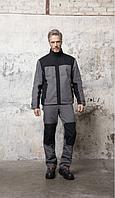 Мужская двухцветная рабочая куртка SOL'S IMPACT PRO, код 01565