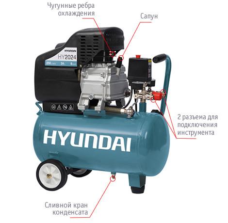 Компрессор HYUNDAI HYC 2024