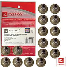 "Колпачки маслосъёмные DAEWOO Nexia, дв 16 кл (компл. 16 шт) ""ROSTECO"""