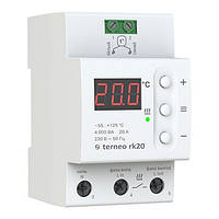 Терморегулятор Тerneo rk 20 (для электрических котлов) гарантия 36 месяцев