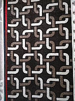 Ковер коричневый,квадраты,2.00х3.00 м.