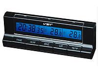 Автомобильные часы VST-7037 (+2 термодатчика)
