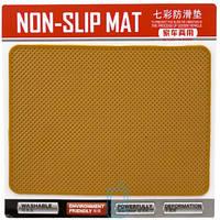 Авто коврик на панель оранжевый 135x190mm