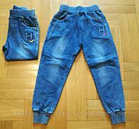 Штаны с имитацией джинса для мальчика 1-5 лет