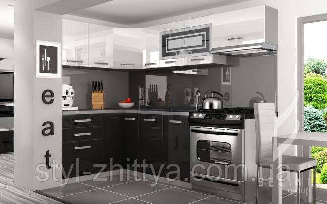 Кутова кухня 360 см Belini Infiniti LIDIA L PRO+
