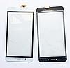 Оригинальный тачскрин / сенсор (сенсорное стекло) Prestigio MultiPhone 3530   3531   3532   7530 Duo (белый)